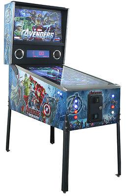 Virtual Pinball Machine - 1,086 Games! Avengers -  Retiring Model