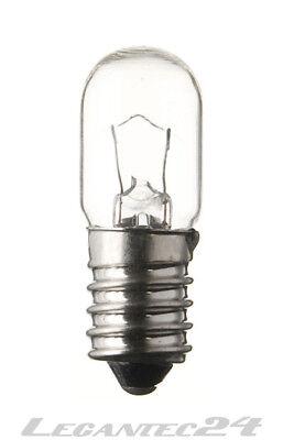 130v Glühlampe (Glühlampe 130V 5W E14 16x45mm Glühbirne Lampe Birne 130Volt 5Watt neu)