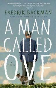 A Man Called Ove by Fredrik Backman (Paperback / softback, 2015)