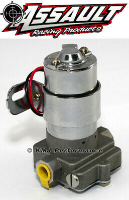 "High Flow Performance Electric Fuel Pump 130GPH Universal Fit 3/8"" NPT Ports"