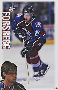 1998-Peter-Forsberg-Colorado-Avalanche-Original-Norman-James-Poster-OOP