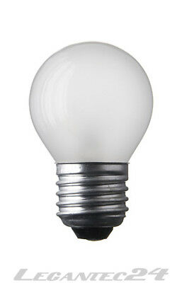 130v Glühlampe (Glühlampe 125-130V 15W E27 80x45 HD Glühbirne Lampe Birne 125-130Volt 15Watt neu)