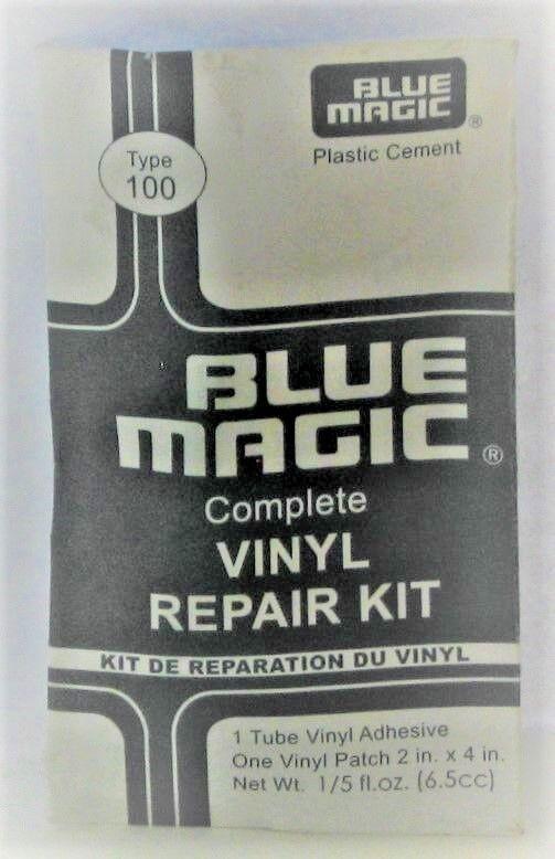 Blue Magic Waterbed Mattress Vinyl Repair Patch Kit Free Shi