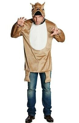 Rubies 14844 - Bulldogge * Hunde Kostüm für Erwachsene  Gr. S-M-L-XL ()