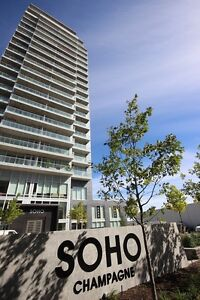 1BDRM SUITE AT SOHO CHAMPAGNE! PARKING & HUGE TERRACE INCLUDED!