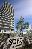 2BED/2BATH AT SOHO CHAMPAGNE!! PARKING INCLUDED!!