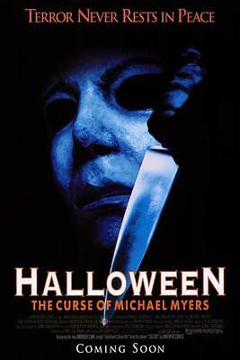 HALLOWEEN 6: THE CURSE OF MICHAEL MYERS Movie POSTER 11x17 Donald Pleasence