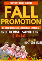 Fall Promotion Special