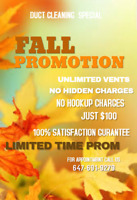 $99 Special Fall Offer
