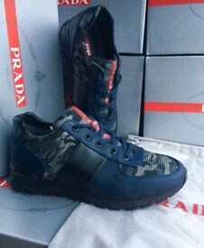 PRADA RUNNERS ALL SIZES AVAILABLE FROM SIZE SIZE 6 TO 11 £60