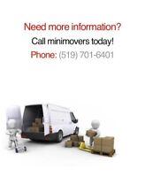 *RATES* $49/hr MINIMOVERS 519 701 6401