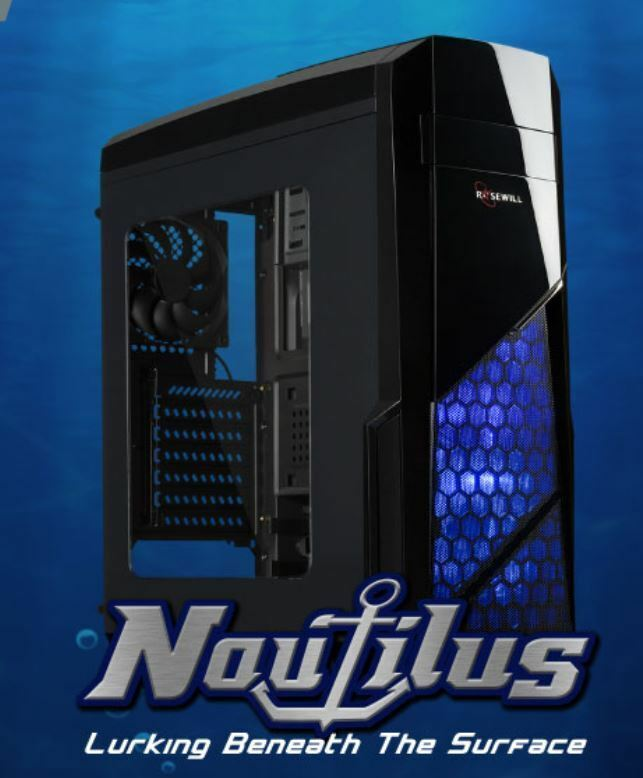 NAUTILUS ATX Mid Tower Computer Case, Supports up to 380 mm