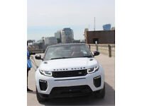 Hire Range Rover Evoque Convertible