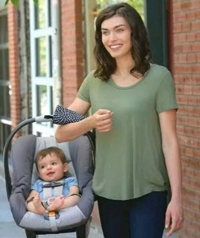 Go Goldbug Carrier Handle Cushion For Infant Car Seat Handle Slip Resistant NWT