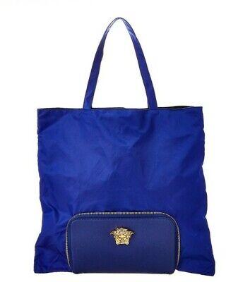 Versace Convertible Medusa Tote Bag