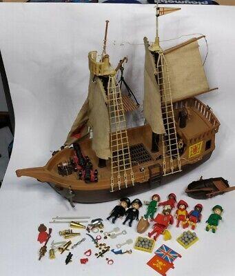 Playmobil System Set 3550 Galeone Pirati - vintage Klicky nave + accessori