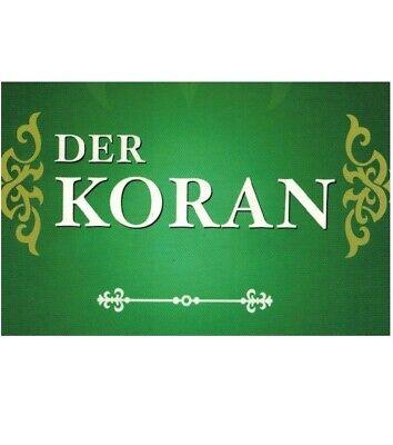 10 Stück Der Koran für Dawa ungefähre Übersetzung auf deutsch Islam Kuran Abaya ()