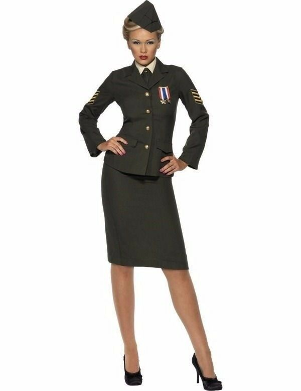 40s FANCY DRESS OUTFIT THE SKIRT IS A LARGE BUT HAS ELASTIC BACK AND THE TOP IS AM ABOUT A 12/14