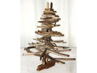 driftwood Christmas tree unique gift decoration