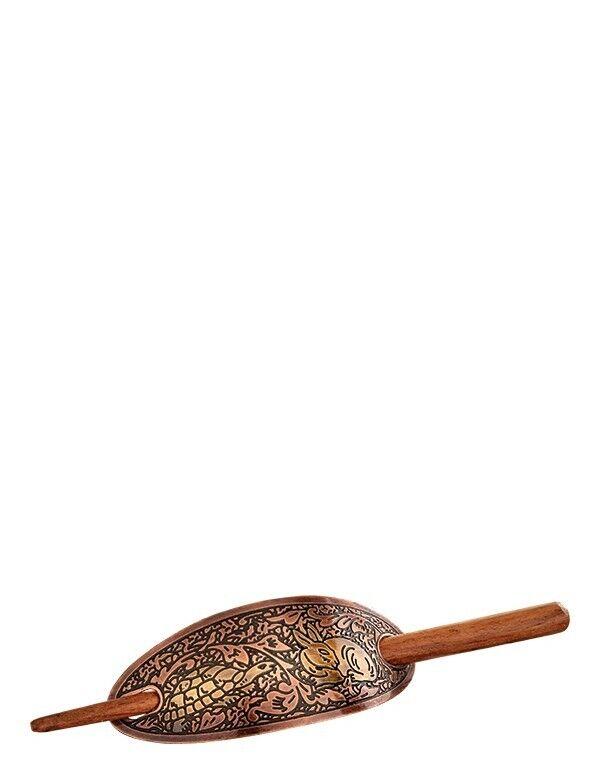 Victorian Trading Co Tortoise & Hare Rabbit an Turtle Copper Stick Barrette