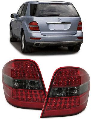 LED Rückleuchten rot schwarz für Mercedes ML W164
