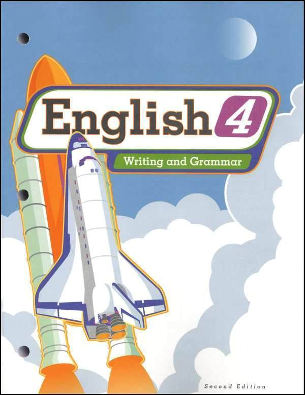 BJU Press - English 4 Student Worktext (updated 2nd ed) 260752
