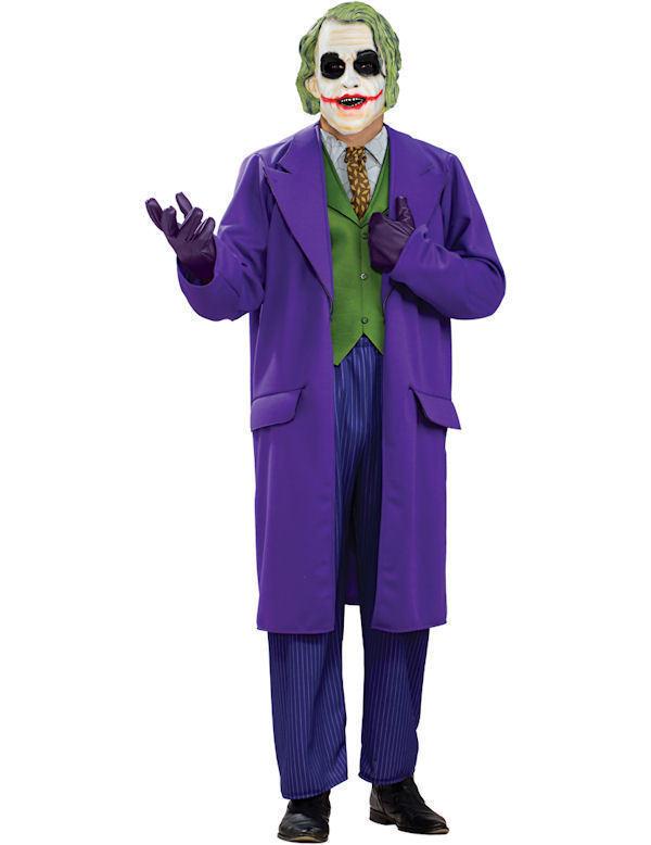 Weste für Joker Cosplay Kostüm Costume Comic Verkleidung Grün Halloween