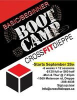 Bootcamp starting September 28th