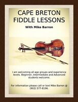 Fiddle lessons!