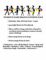 Indoor Women's Designer and Brand Name sale