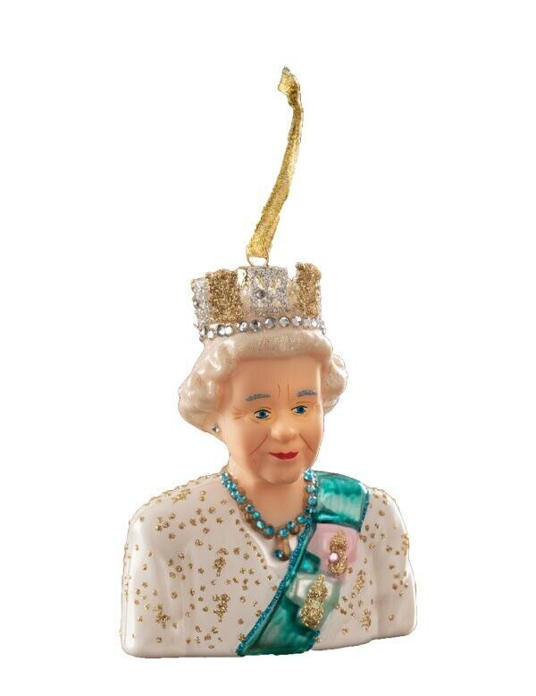 Victorian Trading Co God Save the Queen! Queen Elizabeth Ornament