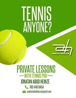 Private or Semiprivate Tennis Lessons