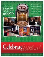 Book Your Party At The Silver Buckle!