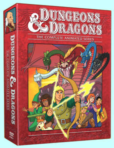 Dungeons & Dragons - The complete animated series DVD set