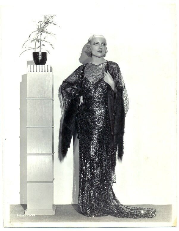 CAROLE LOMBARD original movie GLAMOUR photo 1930s
