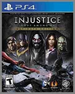 INJUSTICE GODS AMONG US ULTIMATE ED PS4 BRAND NEW FACTORY SEALED