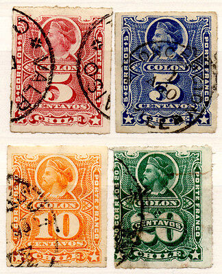 (I.B) Chile Postal : Definitives Collection