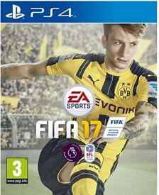 Fifa 2017 PS4 like new game