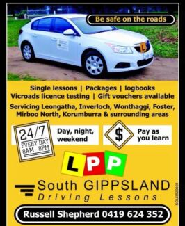 South Gippsland Driving Lessons  Leongatha South Gippsland Preview