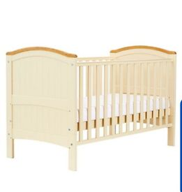 Cot and bed 2 in 1 - 3 settings for rails, babiesrus