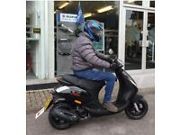 Low miles 69 plate moped