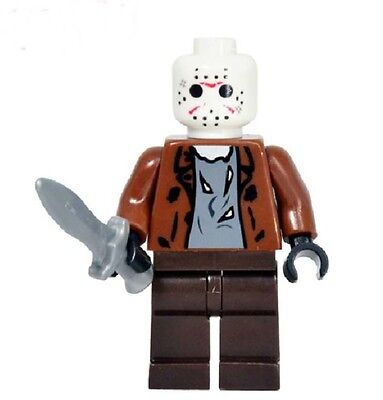 Jason Friday the 13th Minifigure US SHIPPER movie comic toy figure game Horror