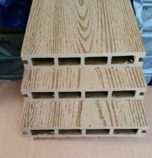 COMPOSITE DECKING - LIGHT TEAK- 5400x150x25mm Like modwood deck
