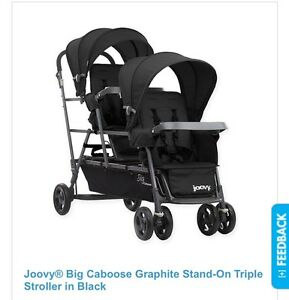 Joovy big caboose (double or triple stroller)