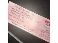 "Three Tickets to see ""That'll Be The Day"". EPSOM PLAYHOUSE."