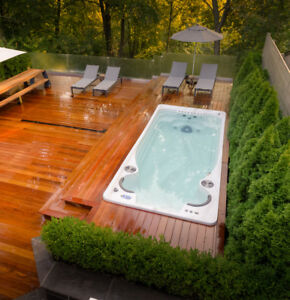 Affordable and Modern Swim Spas   Get Fit in Style