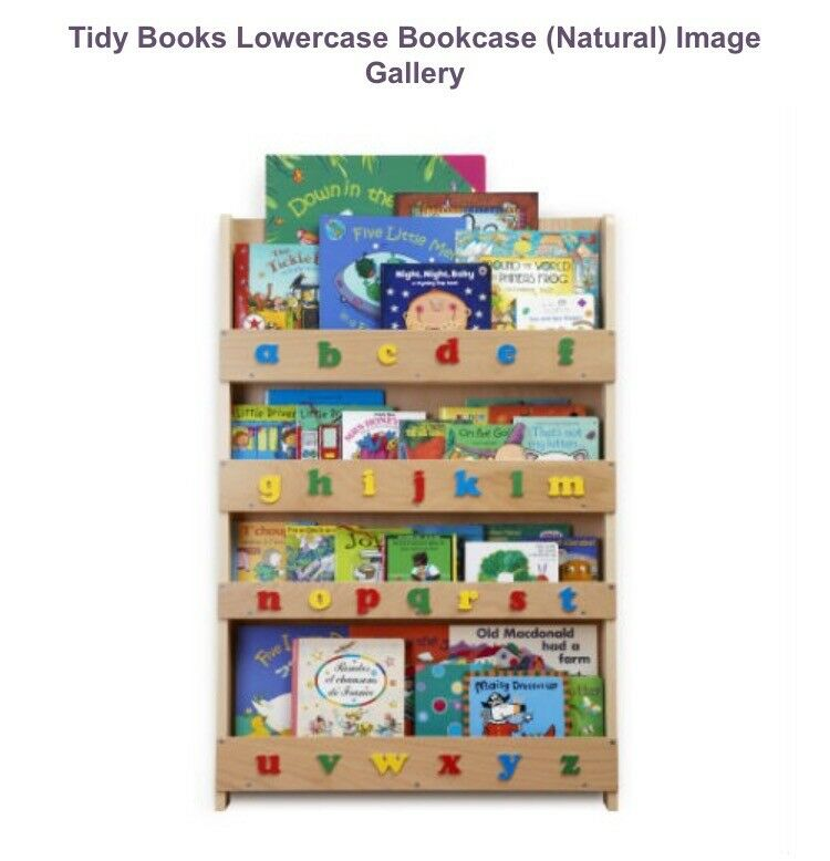 Tidy books bookshelf