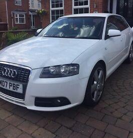 Audi white FSI Quattro rare!