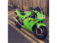 Zxr400 Kawasaki ninja motorbike (not yamha, honda, cbr, 125, r1, r6, motorcycle, a2, pit bike)