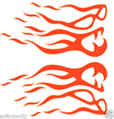 Paint Tribal Flames - RC airbrush stencil/ paint masks tribal flames 25 (SINGLE USE ONLY)